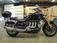 2012 Triumph Rocket III Roadster in Black with 14331