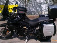 I currently have a 2012 Triumph Tiger Xc 800 for sale.