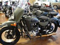 2012 Ural Gear Up Side Car Edition-CLEAN AND CLEAR
