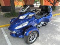 ONE OWNER2012 CAM-AMSPYDERRTS-SE5THREE WHEEL