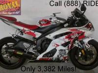 2012 used Yamaha R6 sport bike for sale and under