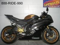 2012 utilized Yamaha R6 sport bike for sale with only