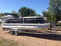 B&L Marine  Boat is a 2012 all aluminum Veranda 2275