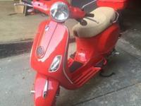We've got a beautiful Vespa that's waiting for you to