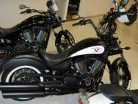 This premium 2012 Victory Motorcyle features the