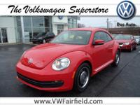 Red Hot! Welcome to Fairfield Volkswagen! Tired of the
