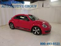 Turbo! Red and Ready! 2012 Volkswagen Beetle 2.0 TSi