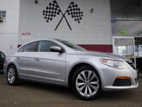 Options:  2012 Volkswagen Cc Sport Pzev 4Dr Sedan