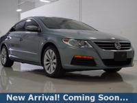 2012 Volkswagen CC Sport in Island Gray Metallic, This