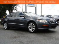 2012 Volkswagen CC Sport 2.0L Turbocharged TSI Gray