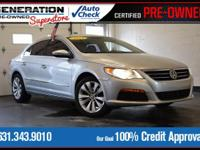 Silver 2012 Volkswagen CC Sport FWD 6-Speed Manual with