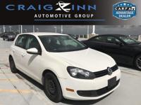 Don't wait another minute! Best color! This 2012 Golf