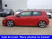 2012 Volkswagen Golf R AWD 6-Speed Manual 2.0L I4 TSI