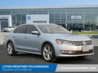 Volkswagen Certified, LOW MILES - 52,231! REDUCED FROM