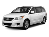 White 2012 Volkswagen Routan S FWD 6-Speed Automatic