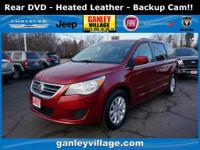 Backup cam! Rear entertainment! Heated seats!