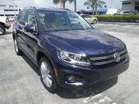 Tiguan SE, Volkswagen Certified, Blue, ABS brakes,