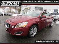 2012 Volvo S60 4dr Car T5 w/Moonroof Our Location is: