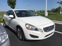 2012 Volvo S60 T6 CARFAX One-Owner. Clean CARFAX.