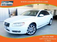 2012 White Volvo S80 T6 For Sale in Denver/Aurora. This