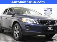 Caspian Blue Metallic 2012 Volvo XC60 T6 AWD 6-Speed
