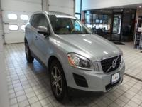 2012 Volvo XC60 T6 AWD finished in Silver over Beige