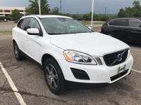 White 2012 Volvo XC60 T6 AWD 6-Speed Automatic with