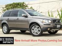 Oyster Gray Metallic 2012 Volvo XC90 3.2 FWD 6-Speed