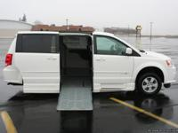 This is a 2012 Wheelchair Accessible Dodge Grand