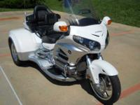 2012 White CSC Trike 533 Miles, Under Warranty New