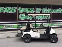 This cart may be simple but it sure is a sweet ride!