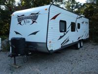 2012 wildwood x-lite bunk house, 26' pull be- hind r.v.
