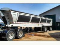 Like New 2012 WINK Half Round End Dump With front