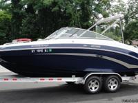 "Length 23'6"", Beam 8'6"", Fuel capacity 50 gallons"