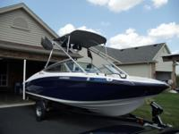 2012 Yamaha AR190 jet boat with trailer excellent