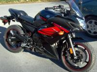 Hello, I have a 2012 Yamaha FZ6R with under 1400 miles