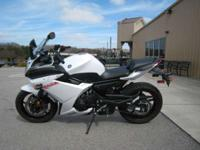 Add a beautiful diamond-steel frame a sleek fairing an
