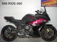 2012 Yamaha FZ6R sport bike for sale with only 5522