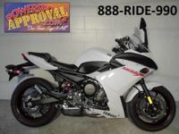 2012 Yamaha FZ6R Sport Bike for sale with only 487
