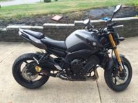 I have lightly used 2012 FZ8 for sale. Bike was