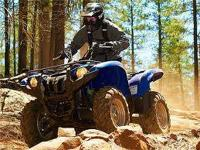 The 2012 Yamaha Grizzly 700 non-EPS features fuel