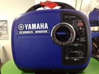 2012 Yamaha Inverter EF2000iS Yamaha EF2000iS
