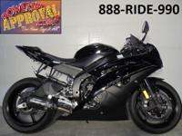 2012 Yamaha R6 Raven Edition crotch rocket for sale