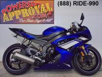 2012 Yamaha R6 Sport bike for sale $8,900 or $149 per