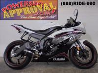 2012 Yamaha R6 This is one clean used Yamaha R6. It's