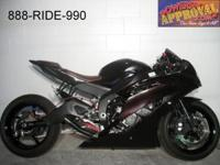 2012 Yamaha R6 used crotch rocket for sale with only