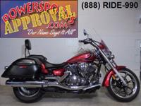 2012 Yamaha Vstar950 Touring bike. You don't need a