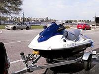 2012 Yamaha VX 1100 Sport Wave Runner. Jet ski is