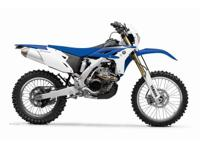2012 Yamaha WR450F Electric Start  FOR 2012 THE