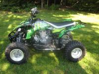 2012 Yamaha YFZ 450, bought brand new this year just